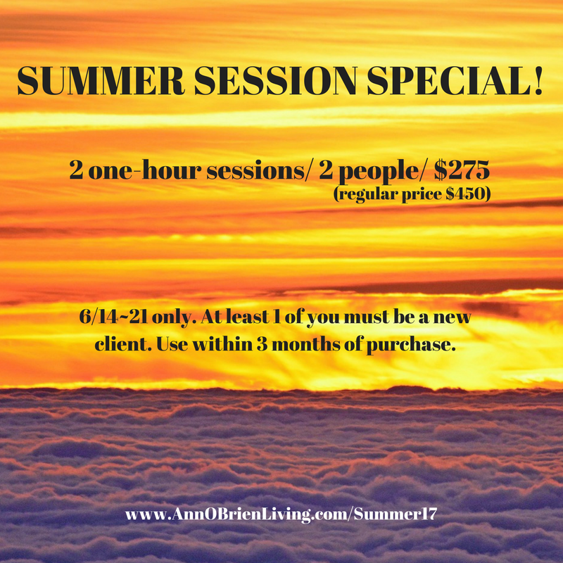 2017 SUMMER SESSION SPECIAL!